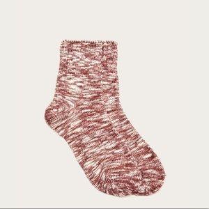 FRYE chunky marled boot sock